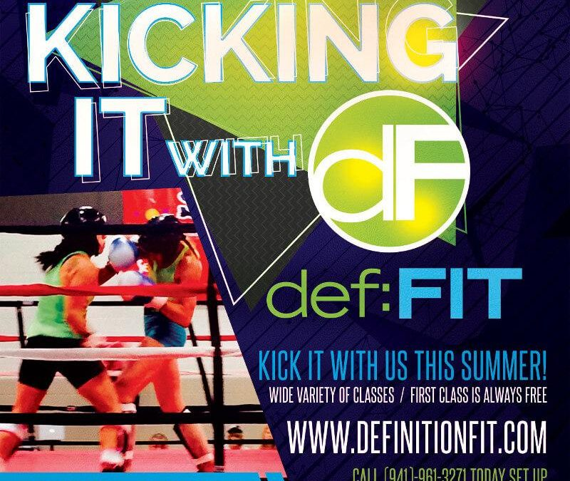 Kicking It With Definition Fit