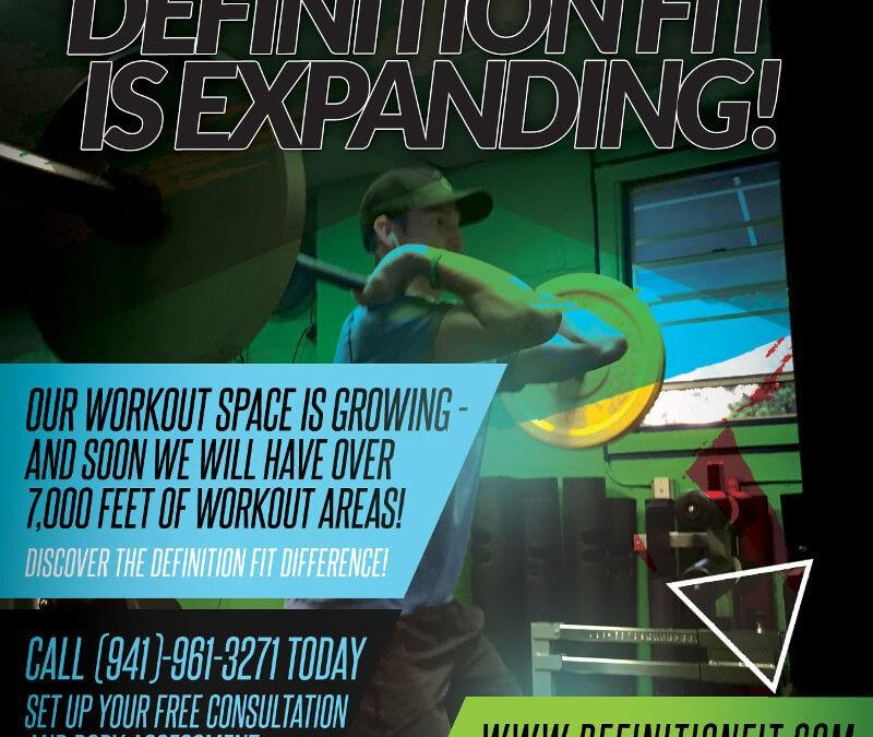 Definition Fit is Expanding!
